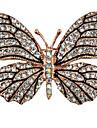 Pentru femei Broșe Ștras Design Animal Aliaj Animal Shape Fluture Bijuterii Pentru Petrecere Casual Serată Anul Nou