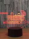 Lumină de noapte Decorațiuni Luminoase-3W-USB Schimbare - Culoare Touch Sensor - Schimbare - Culoare Touch Sensor