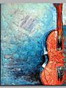 Hang målad oljemålning HANDMÅLAD - Stilleben Artistisk Abstrakt Ledigt Duk