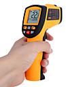 Beröringsfri Laser IR-termometer -50-700 ℃ w Alarm MAX MIN AVG DIF