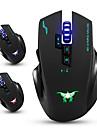 Combowerwing cw100 mouse-uri wireless mouse-ul de jocuri cu mouse optic cu 4 niveluri ajustabile dpi 8 butoane 3 culori lumini de
