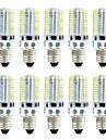 BRELONG® 10pcs 4W 360lm E14 Ampoules Mais LED 80 Perles LED SMD 3014 Intensite Reglable Blanc Chaud Blanc 220V 110V