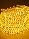 20m Fâșii de Iluminat 1200 LED-uri 5050 SMD Alb Cald / Alb / Albastru Rezistent la apă 220 V / IP65