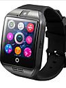 hhy q18 smart klocka med pekskärm kamera tf kort för android ios