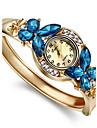 Pentru femei Ceas La Modă Ceas Brățară Quartz imitație de diamant Aliaj Bandă Atârnat Elegant Auriu