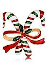 Bărbați Pentru femei Broșe La modă Chrismas Placat Cu Aur Roz Aliaj Bijuterii Pentru Crăciun Anul Nou