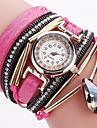 Pentru femei Ceas Sport Ceas La Modă Ceas Brățară Ceas Casual Simulat Diamant Ceas Chineză Quartz Rezistent la Apă PU Bandă Sclipici