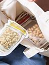 4pcs model de jar galben de călătorie transparente auto-etanșare sac alimentare set