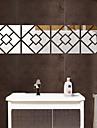 Oglinzi Forme #D Perete Postituri Autocolante perete plane Acțibilduri de Oglindă Autocolante de Perete Decorative,Teracotă Material