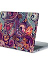 MacBook Fodral för Mandala Blomma TPU MacBook Air 13 tum MacBook Air 11 tum MacBook Pro 13 tum med Retina-skärm