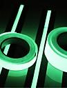 400 * 2 cm de lumiere dans un ruban lumineux lumineux noir adhesif de fluorescence verte nuit ruban adhesif decoratif decoratif decoratif