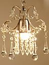 Cristal Lumini pandantiv Lumină Spot - Cristal, Bec Inclus, 110-120V / 220-240V, Alb Cald, Bec Inclus / 5-10㎡ / E26 / E27