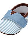 Bebeluș Pantofi Pânză Primăvară Vară Confortabili Tălpi cu Lumini Pantofi Flați Pentru Casual Albastru Închis Roz Albastru Deschis Kaki