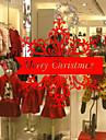 Crăciun Cuvinte & Citate Floral/Botanic Perete Postituri Autocolante perete plane Autocolante de Perete Decorative, Vinil Pagina de