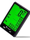 West biking Cykeldator Vattentät Av - Genomsnittlig hastighet Avståndsmätare LCD Trådbunden Max - Maximal hastighet SPD - Aktuell