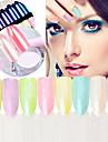 Glitter Tillbehör Glitterpulver Puder Paljetter Gör-det-själv-produkter 3D Spegel Klassisk Pearl Effect Glamour Blank Hög kvalitet