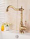 Kitchen faucet - Antique Antique Brass Vessel