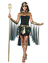 Deesse Costumes egyptiens Cleopatra Costume de Cosplay Casque Costume de Soiree Bal Masque Femme Halloween Carnaval Fete / Celebration