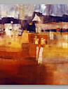 Peint a la main Abstrait Artistique Un Panneau Toile Peinture a l\'huile Hang-peint For Decoration d\'interieur