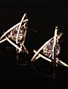 Pentru femei Cercei Stud Geometric Aliaj Triangle Shape Bijuterii Pentru Nuntă Petrecere