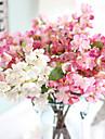 artificiella växter heminredning silke körsbärsblommor liten konstgjord bukett bröllop 1 gren