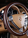 Steering Wheel Covers Genuine Leather 38cm Black / Beige / Coffee For Nissan All Models All years
