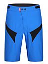 SANTIC Herr Cykelshorts Cykel Shorts / Säckiga Shorts / Herr Boxer 3D Tablett, Snabb tork, UV-Resistent Lappverk Cykelkläder / MTB-shorts