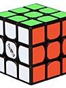Rubiks kub QI YI 3 3*3*3 Mjuk hastighetskub Magiska kuber Utbildningsleksak Pusselkub Lena klistermärken Present Flickor