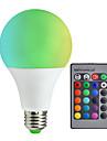 10W 800 lm E27 Bulbi LED Inteligenți A80 30 led-uri SMD 5050 Intensitate Luminoasă Reglabilă Decorativ Telecomandă RGB + alb AC85-265