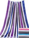 Färsk stil Badhandduk,Randig Överlägsen kvalitet 100% Bomull Handduk
