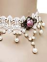 Bijuterii Clasic/Traditional Lolita Lănțișor Prințesă Dame Alb Lolita Accesorii Dantelă Colier Dantelă Aliaj