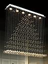 Artistisk Naturligt inspirerad LED Chic och modern Land Traditionell/Klassisk Modern Kristall Glödlampa inkluderad designers Ljuskronor
