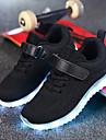 Băieți Pantofi Plasă / Țesătură Toamnă Confortabili / Pantofi Usori Adidași Bandă Magică / LED pentru Albastru Închis / Gri / Roz