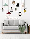 Modă Vintage Perete Postituri Autocolante perete plane Autocolante de Perete Decorative, Plastic Pagina de decorare de perete Decal Perete