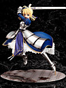 Anime Action Figures Inspired by Fate / stay night Altria Pendragon PVC(PolyVinyl Chloride) 25 cm CM Model Toys Doll Toy