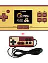 Rs-30 klassisk retro spelkonsol handhållen bärbar 2.6 600 spelficka gratis patron 2: a spelare controller för fc