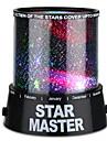 Lampe Ciel Etoile Lampe Etoile Eclairage LED Lampe Projecteur Lampe de Chevet Lampes de nuit Crepuscule colore Projecteur Star Light