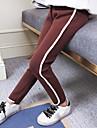 Fete Pantaloni Dungi Poliester Iarnă Activ Negru Roșu-aprins Gri