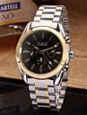 Jaragar Bărbați Ceas de Mână Ceas Elegant  Ceas La Modă Ceas Casual Mecanism automat Ceas Casual Oțel inoxidabil Bandă Casual Cool Negru