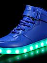 Băieți Pantofi Piele Originală Materiale Personalizate Toamnă Iarnă Confortabili Pantofi Usori Adidași Dantelă Cârlig & Buclă LED Pentru