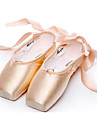 Pentru femei Balet Satin Josi Talpă Comletă Interior Performanță Profesional Antrenament Începător Toc Drept Migdală NePersonalizabili