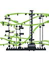 Spacerail 231-2G 10000MM Construccion de carrera de carrera de marmol Circuitos Pistas para canicas Juguete de vapor Fosforescente Fluorescente Noctilucente Plasticos Acetato / Plastico ABS Ninos