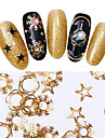 1 pcs Metallique / Mode / Noel Stickers Nail Art Design Quotidien