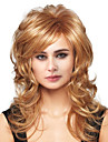 Human Hair Capless Wigs Human Hair Body Wave Side Part Long Machine Made Wig Women\'s