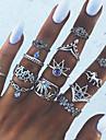 Žene Geometrijski Prestenje knuckle ring - Legura Statement, dame, Vintage Jewelry Pink Za Dnevno Univerzalna veličina