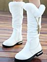 Fete Pantofi Piele Toamnă Iarnă Confortabili Cizme de Zăpadă Cizme Pentru Casual Alb Negru Rosu