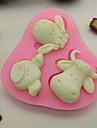 Cake Moulds Kakor Tårta för choklad För köksredskap Choklad Kaka Silikon Gummi Kiselgel GDS (Gör det själv) Fastnar ej Hög kvalitet 3D