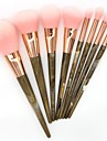 8pcs Foundation Brush Powder Brush Lip Brush Eyeshadow Brush Blush Brush Makeup Brush Set Others Synthetic Hair Nylon Professional Soft