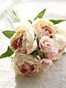 8.0 ramură Poliester Bujori Față de masă flori Flori artificiale