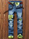 Bărbați Vintage Pantaloni Chinos Blugi Pantaloni Mată